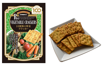 Ten vegetables Cracker
